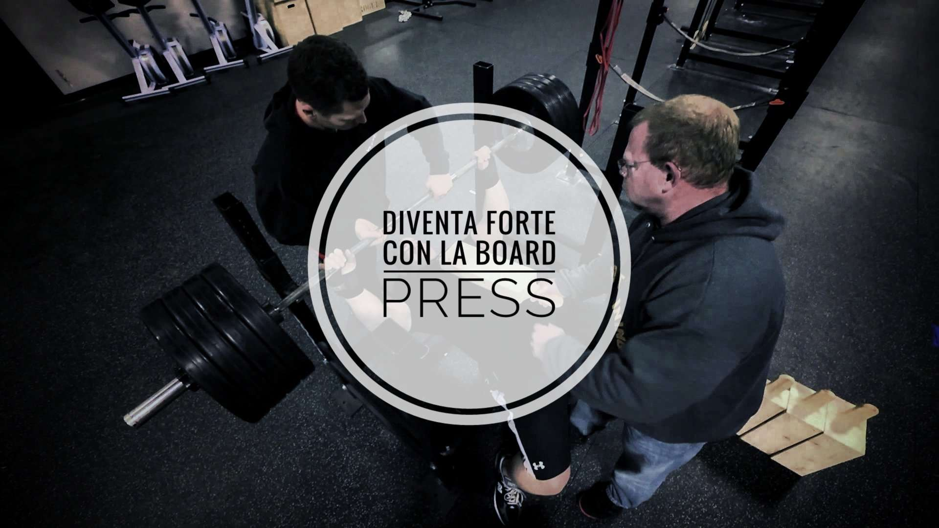 Board Press (per i deboli in Panca Piana)