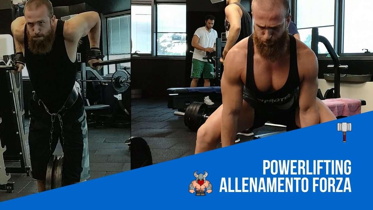 Powerlifting ed Allenamento Forza (NON sono la stessa cosa..)