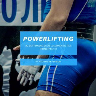 Scheda Powerlifting Principianti