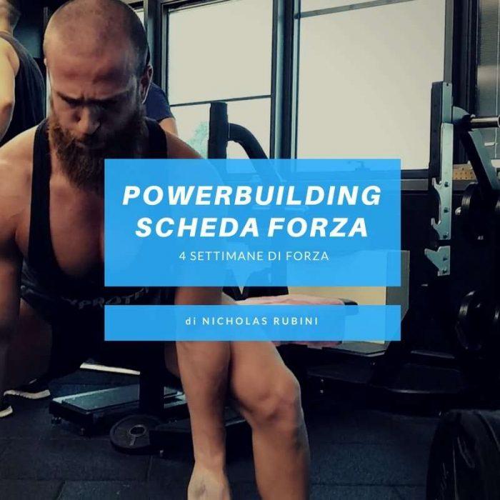 Scheda Forza Powerbuilding