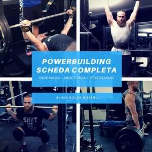 Scheda Powerbuilding Programma