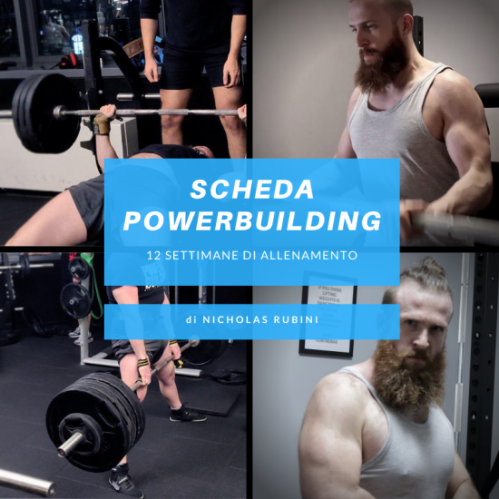 scheda powerbuilding