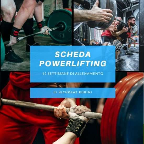 Scheda Powerlifting