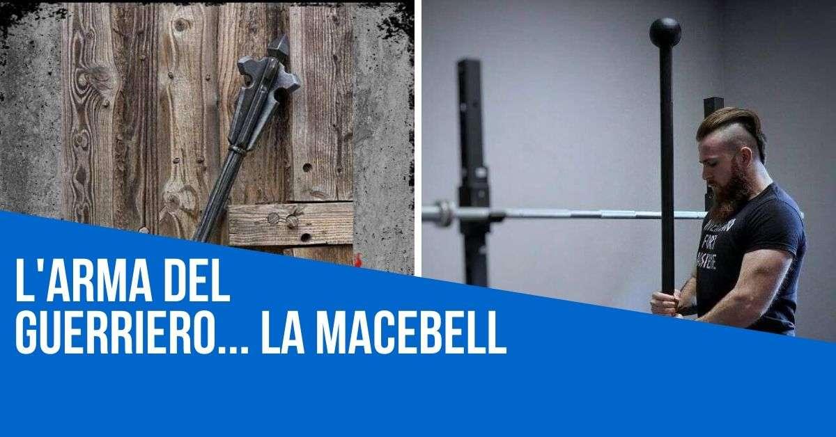 macebell esercizi allenamento