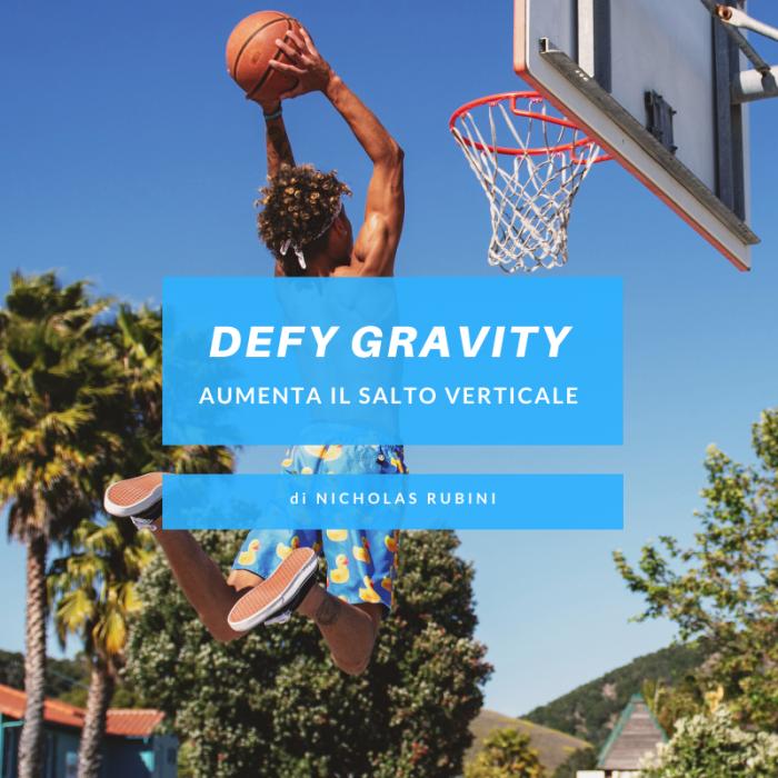 Defy Gravity - Scheda Salto Verticale